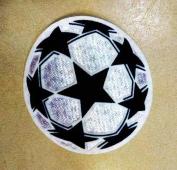 нашивка Лига Чемпионов(термо)(8см х 8см)