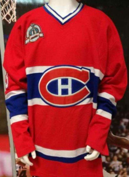 свитер Montreal Canadiens №33 ROY