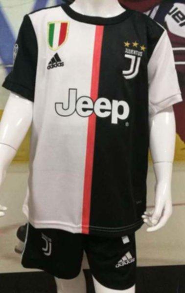 форма детская Juventus №7 RONALDO (2019-2020)Champions League(домашняя)