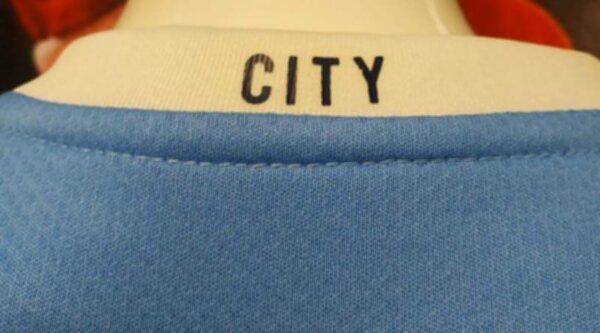 форма детская Manchester City №10 KUN AGUERO 2020-2021 домашняя полиэстер 100%