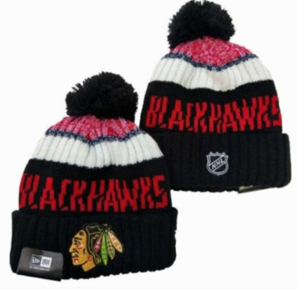 шапка Chicago Blackhawks ( акрил 100% )