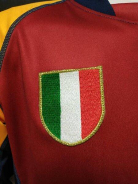 майка  AS Roma ( длинный рукав ) ретро 2001-2002