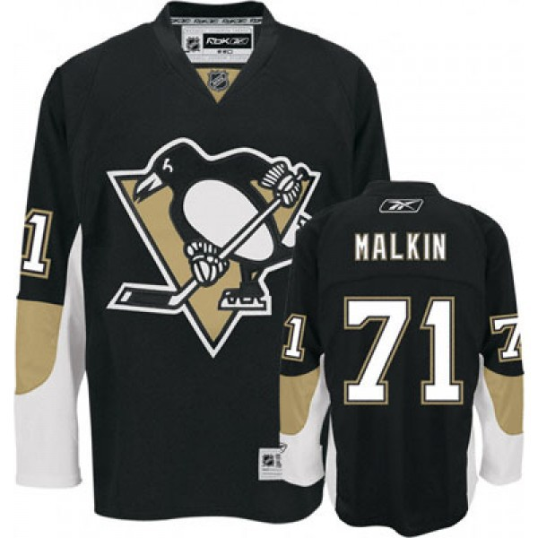 свитер Pittsburgh Penguins №71 MALKIN