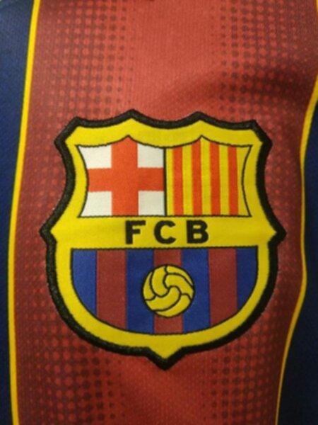 форма Barcelona длинный рукав  2020-2021  домашняя