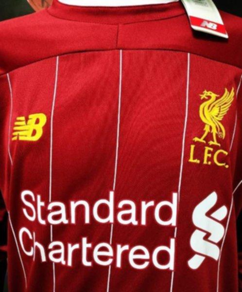 форма Liverpool (длинный рукав) (2019-2020)(домашняя)