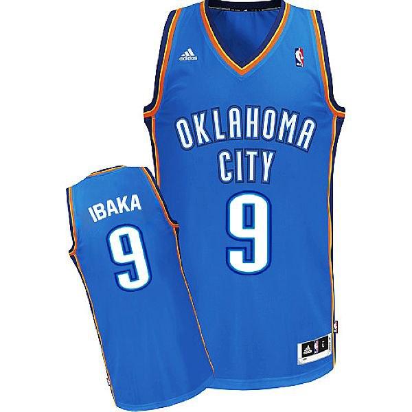 майка баскетбольная Oklahoma City Thunder №9 IBAKA  adidas