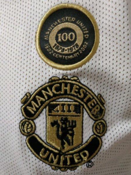 майка Manchester United(ретро)(двухсторонняя)(2002)