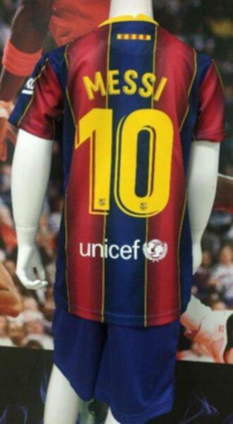 форма детская Barcelona №10 MESSI  2020-2021 домашняя