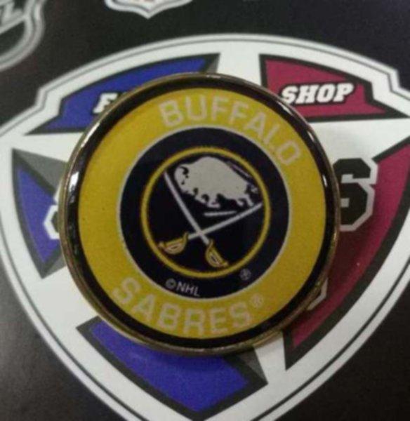 значок Buffalo Sabres (№0769)(2,5см)