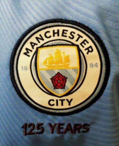 форма Manchester City №11 ZINCHENKO (2019-2020)