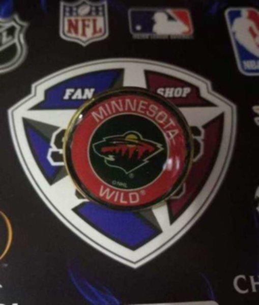 значок Minnesota Wild (№0805)(2,5см)