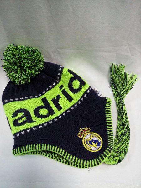шапка Real Madrid(с вышивкой)(акрил 100%)