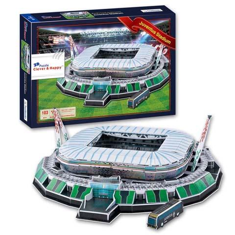 пазл Juventus Stadium 3D(38,5cm x 30cm x 12cm)