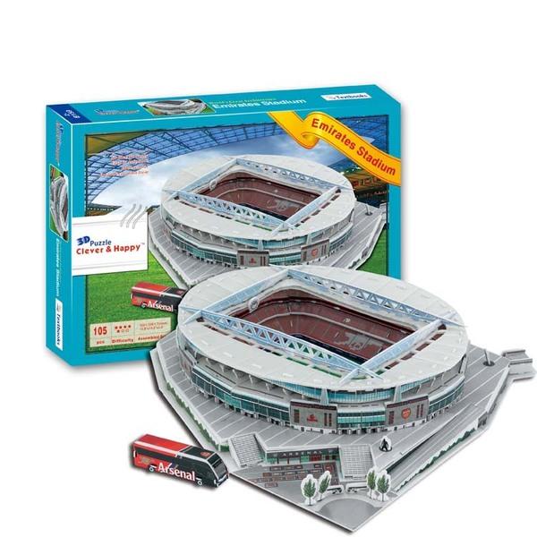 пазл Emirates Stadium 3D(38,5cm x 30cm x 12cm)