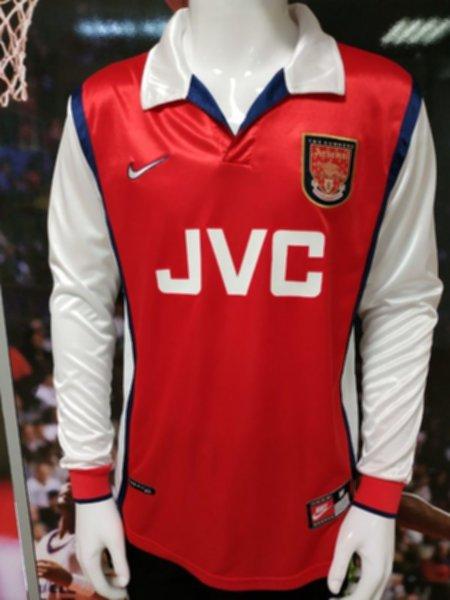 майка Arsenal(ретро)(длинный рукав)(1998)