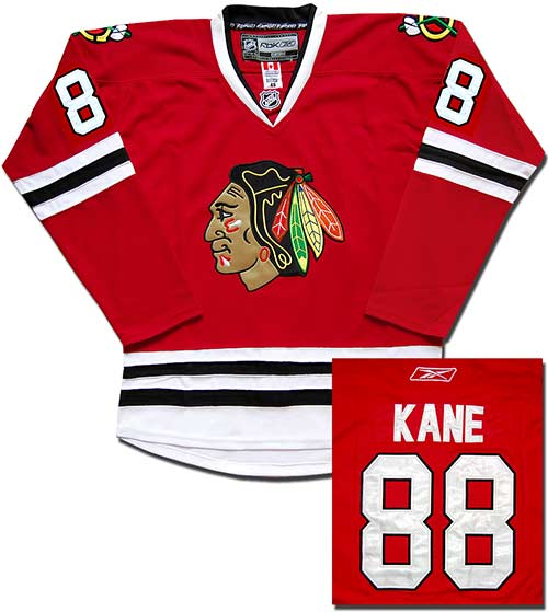 свитер Chicago Blackhawks №88 KANE