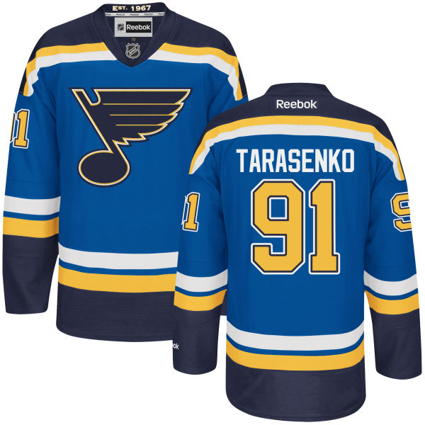 свитер St. Louis Blues №91 TARASENKO