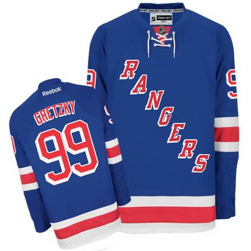 свитер New York Rangers №99 GRETZKY