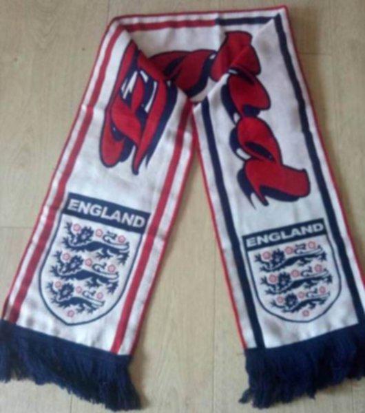 шарф сборной Англии