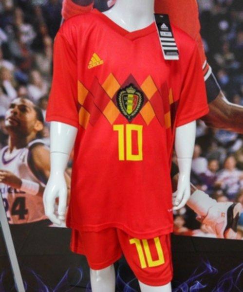 форма детская сборной Бельгии №10 HAZARD(World Cup 2018)