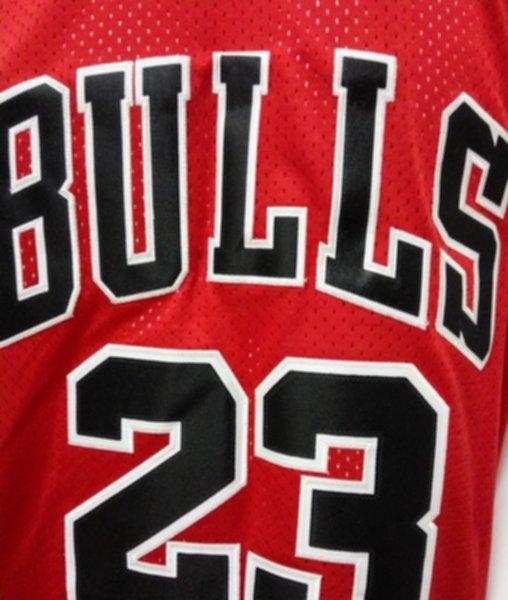 майка баскетбольная  Chicago Bulls №23 JORDAN  Mitchell & Ness