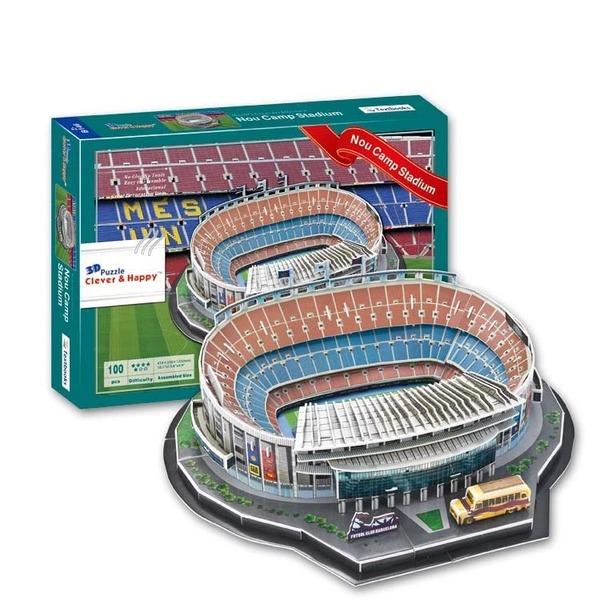 пазл Estadio Camp Nou 3D   38,5cm x 30cm x 12cm