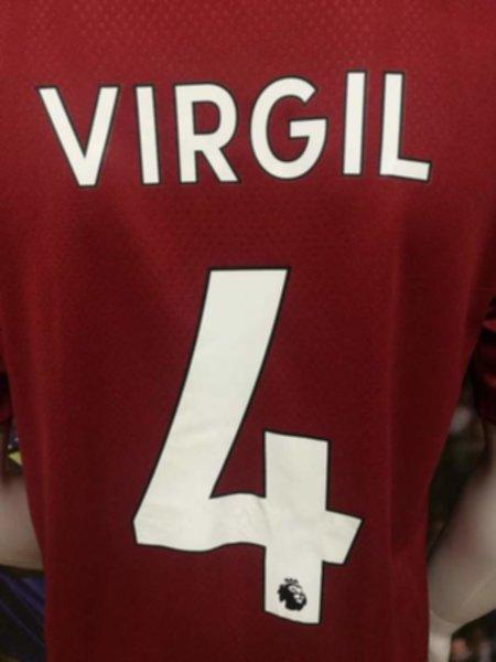 форма Liverpool №4 VIRGIL (2019-2020) (домашняя)