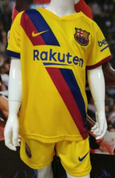 Forma Detskaya Barcelona 2019 2020 Gostevaya