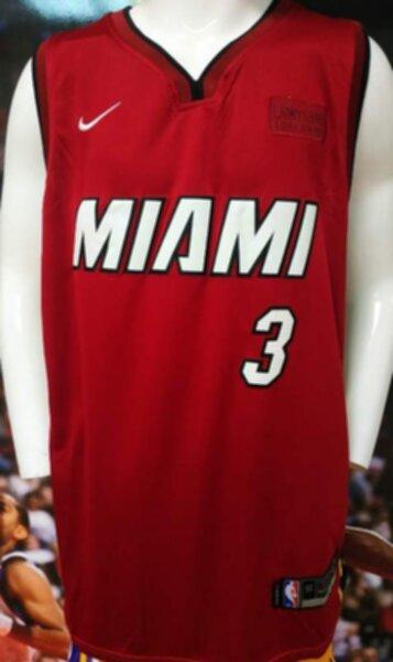 майка баскетбольная Miami Heat №3 WADE  nike