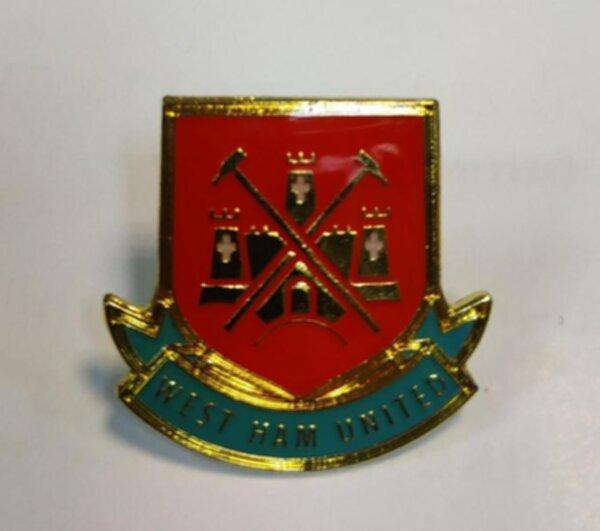 значок West Ham  №0133  металл и полимерная смола