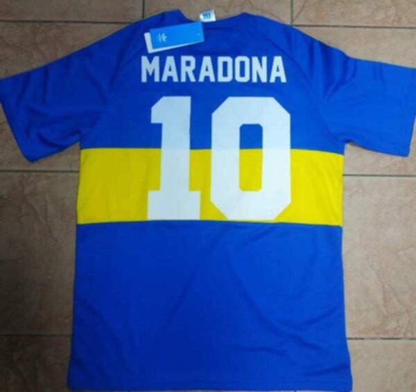 майка Boca Juniors ретро №10 Maradona  1981