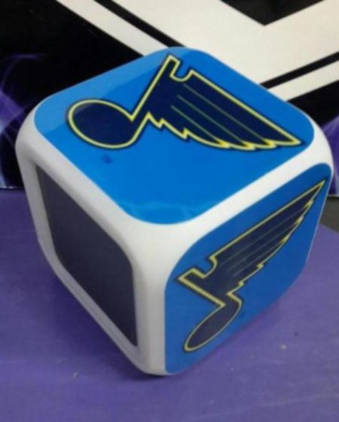 часы с LED St.Louis Blues 8 х 8 х 8см