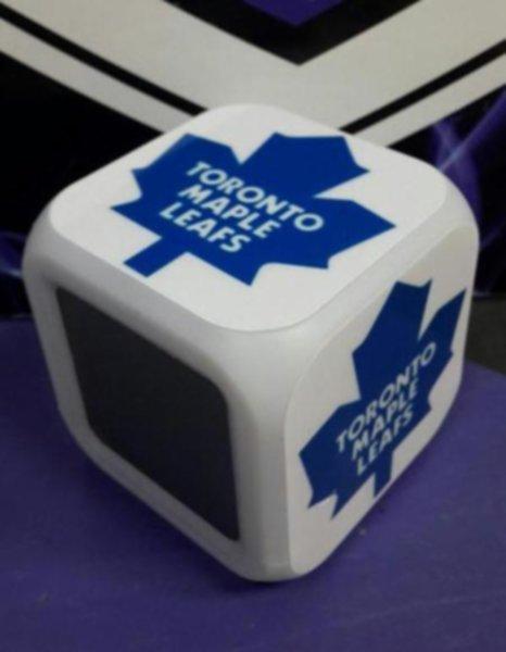часы с LED Toronto Maple Leafs 8 х 8 х 8см