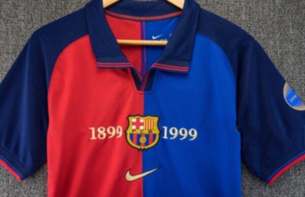 майка Barcelona 1999   ретро  полиэстер 100%