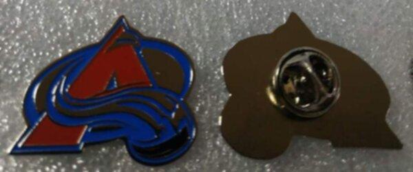значок Colorado Avalanche  №1163   3 х 2,5 см металл