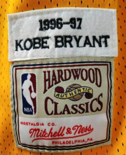 майка баскетбольная Los Angeles Lakers №8 BRYANT   Mitchell & Ness