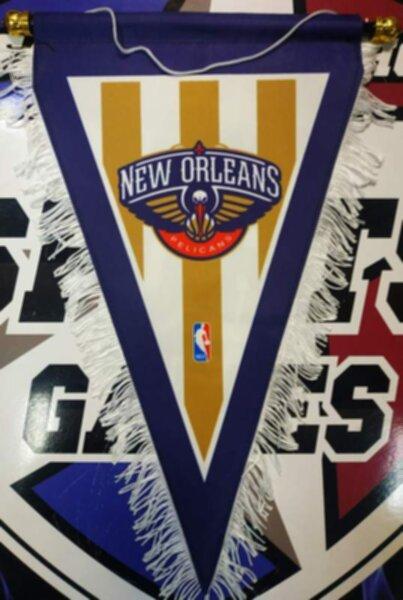 вымпел New Orleans Pelicans  40 Х 25 см  матерчатый