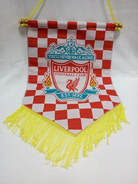 вымпел Liverpool 30 см х 20 см