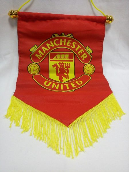 вымпел Manchester United  30 см х 20 см