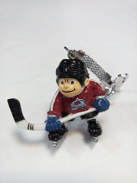 брелок -хоккеист Colorado Avalanche