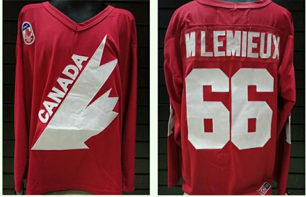 свитер Canada №66 LEMIEUX