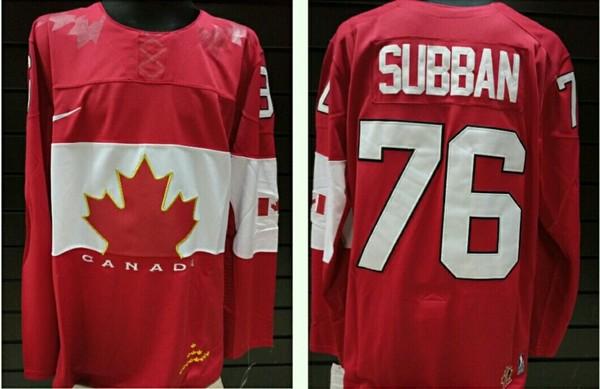 свитер Canada №76 SUBBAN