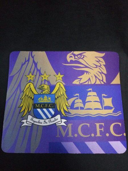 коврик для мышки Manchester City 21 х 18 см