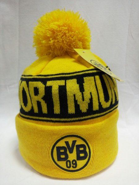 шапка Borussia Dortmund(с вышивкой)(акрил 100%)