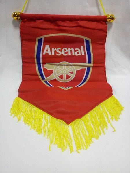 вымпел Arsenal  30 см х 20 см