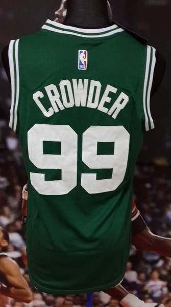 майка баскетбольная Boston Celtics №99 CROWDER  adidas
