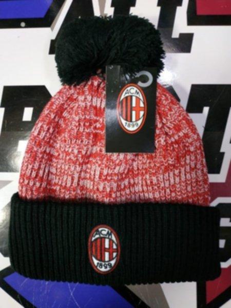 шапка AC Milan(с вышивкой)(акрил 100%)