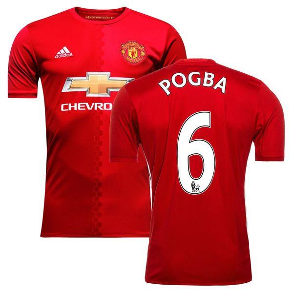 форма Manchester United №6 POGBA(2016-2017)