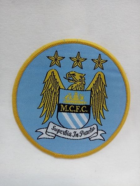 нашивка Manchester City  8см х 8см