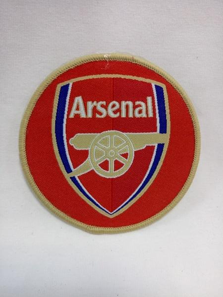 нашивка Arsenal  8 см х 8 см